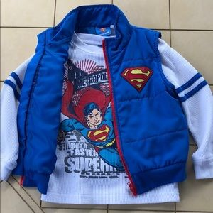 Superman Thermal Shirt and Vest